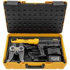 REMS akumulatoru darbināmā radiālā prese Akku-Press XL 45 KN 22V ACC Basic-Pack Z7