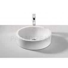 Izlietne Fuego, 490x390 mm, h=150 mm, uz virsmas, balta