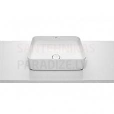Izlietne Inspira Square, 500x370 mm, balta Fineceramic®