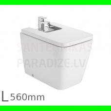 Bidē Inspira Square, 370x560 mm, balts