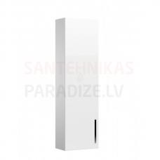 Augstais skapis Prisma, 350x200 mm, h=1200mm, 1D, spīdīgi balts