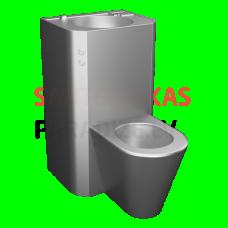 SANELA grīdas tualetes poda komplekts ar izlietni, 24 V