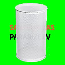 SANELA Apaļa atkritumu tvertne/miskaste, balta, 21 L