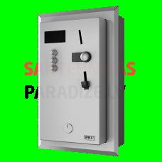 SANELA iebūvējamais monētu un žetonu automāts 1-3 dušām, tiešā vadība, dušu izvēlas lietotājs