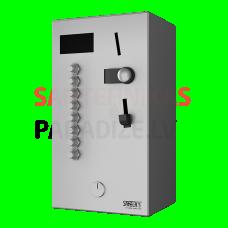 SANELA monētu un žetonu automāts 2-8 vai dušām, tiešā vadība, dušu izvēlas lietotājs