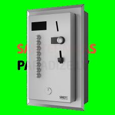 SANELA iebūvējamais monētu un žetonu  automāts 2-8 vai 12 dušām, interaktīvā vadība, dušu izvēlas lietotājs