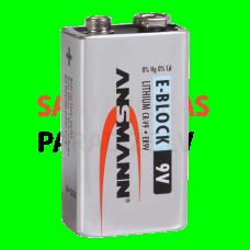 SANELA litija baterija Krona 9 V/1200 mA/st.