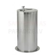 SANELA nerūsejošā tērauda dzeramā ūdens strūklaka SLUN 23M (650mm)