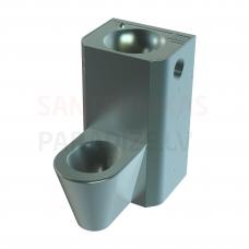 SANELA PIEZO grīdas tualetes poda komplekts ar izlietni, 24V