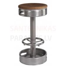SANELA nerūsējošā tērauda bāra krēsls KEG SLZN 92