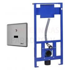 SANELA automātiskās tualetes skalošanas komplekts ar rāmi SLW 10NK