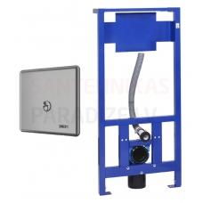 SANELA automātiskās tualetes skalošanas komplekts ar rāmi SLW 10P