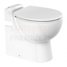 SFA tualete ar integrētu sūkni-smalcinātāju SANICOMPACT PRO