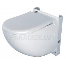 SFA piekaramais tualetes pods ar integrētu sūkni-smalcinātāju SANICOMPACT COMFORT