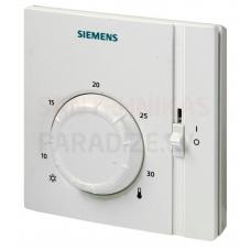 Siemens elektromehāniskais istabas termostats ar ieslēgšanas/izslēgšanas slēdzi RAA31