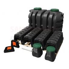 Notekūdeņu attīrīšanas iekārta individuālām mājām EPURBLOC 2000 (W-086) izmērs: 1900x1190x1440