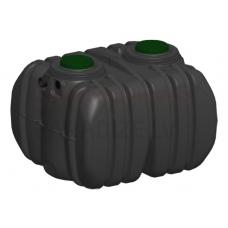Nosedtvertnes ar iebūvētu noņemāmu filtru EPURBLOC  4000 izmērs: 2045x1850x1545