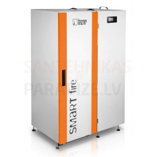 HKS LAZAR granulu apkures katls SmartFire Compact 11kW ar 50L bunkuru