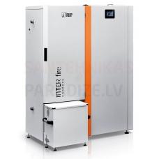 HKS LAZAR kondensācijas granulu apkures katls InterFire 11kW ar 150L bunkuru