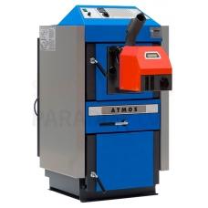 ATMOS gazifikācijas apkures katls ar granulu deglis AC25S 4-20kW