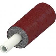 TECEflex 16mm PE-Xc/Al/PE-RT daudzslāņu pretkondensāta caurule ar 13mm sarkanu PE izolāciju eur/m