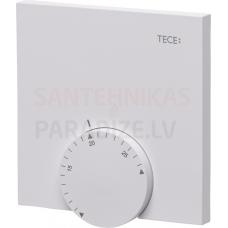 TECEfloor elektroniskais bezvadu telpas termostats RT F-A 86x86x20mm, plastmasa, balts