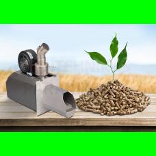 TIS granulu deglis ar šneku komplektā 20 (8-20 kW)
