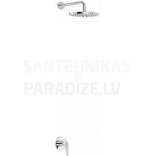 TRES BASE PLUS zemapmetuma dušas sistēmas komplekts (1 kanāls)