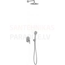 TRES BASE PLUS zemapmetuma dušas sistēmas komplekts (2 kanāli)