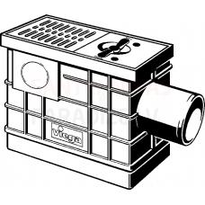 VIEGA Optifix 3 grīdas noteka traps ar pretvārstu (nav režģis)
