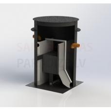 VIRTE bioloģiskās attīrīšanas iekārtas BioVRT-3N (D1270 H2000)