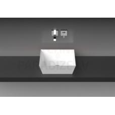 Vispool akmens masas izlietne Quadro 45 445x445x155