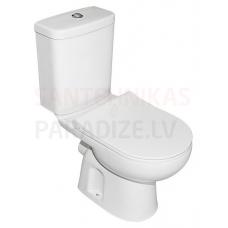 Turavit WC tualetes pods ALIZE (horizontalais izvads) ar Soft Close Slim vāku
