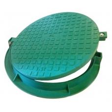 Kanalizācijas plastmasas lūka, slodze (1.5 tn) zaļa