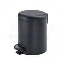 Atkritumu tvertne 3l, melna