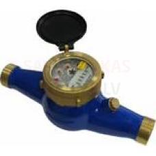 Mājas ūdens skaitītājs Minol 1/2' 1,5 m³/h 30°C ar saskrūvēm