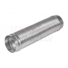 EUROPLAST lokanais alumīnija savienojums-caurule Ø 80mm-0.5m ārējās uzmavas