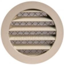 EUROPLAST reste alumīnija sakausējuma, Ø125mm, bēša MRA125Y
