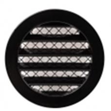 EUROPLAST reste alumīnija sakausējuma, Ø80mm, melna MRA80M