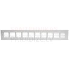 EUROPLAST reste alumīnija, 80x400mm, balta RA840