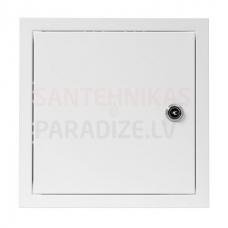EUROPLAST revīzijas lūka metāla, 150x150mm ar atslēgu RLA1515