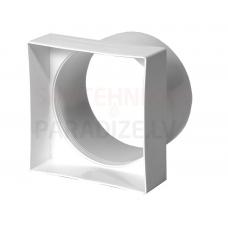 EUROPLAST pāreja plastmasas, 100x100mm, Ø100mm VA91