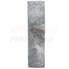 Dekors / klinkera flīzes ar akmens rakstu iekštelpām un fasādei LONDON CHARCOAL 6x25cm