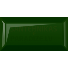 Glancētas sienas flīzes 10 x 20 cm Metrotiles zaļa
