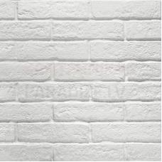 Dekors / klinkera flīzes ar akmens rakstu iekštelpām un fasādei NEWYORK WHITE 6x25cm