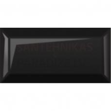Glancētas flīzes 10x20 cm Metrotiles black
