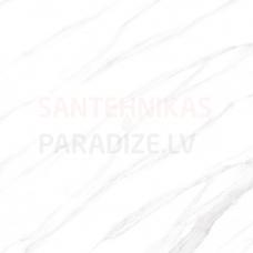 Glancētas akmens flīzes - sienām, grīdai, fasādei 60х60cm CALACATTA WHITE / 4 faces