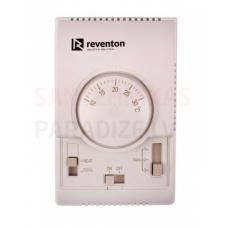 Gaisa-ūdens siltuma pūtēju 3-pakapju kontrolieris HC 230V ar istabas termostatu