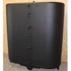 MINDREKS METALL 1000 litri OV/DW ovāla akumulācijas tvertne bez izolācijas ar siltummaini