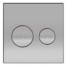KKPOL P01 sienā iebūvējama poda poga (hroms)